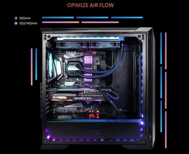 MSI MPG GUNGNIR 100 RGB