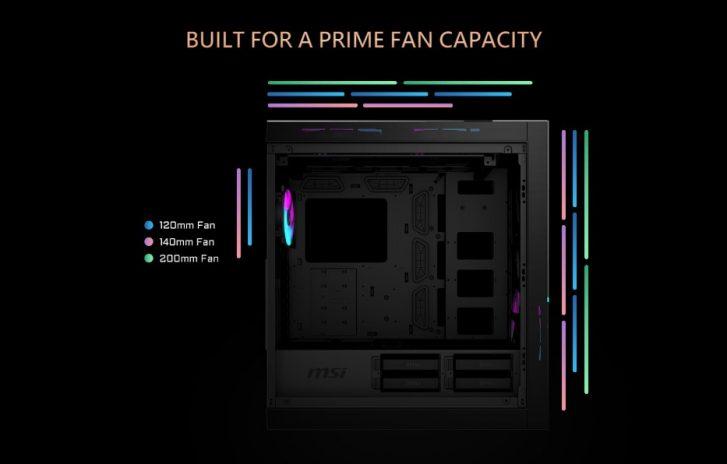 MSI MPG SEKIRA 500G RGB