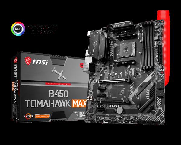 Mainboard MSI B450 Tomahawk Max_5