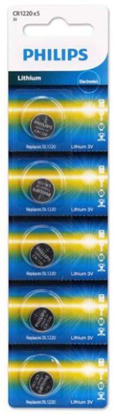 Pin Philips CR1220 (5 viên 3V)
