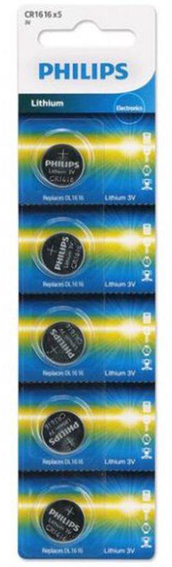 Pin Philips CR1616P5B (5 viên 3V)