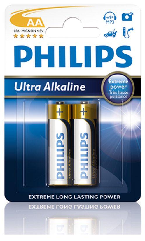 Pin Philips LR6E2B/10 (2 viên AA)