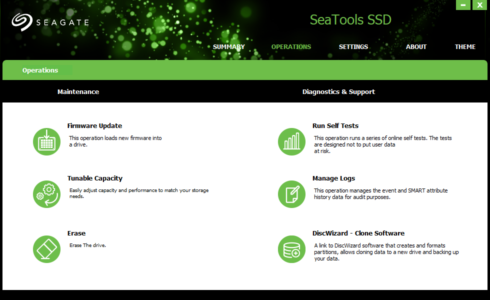 SEATOOLS SSD