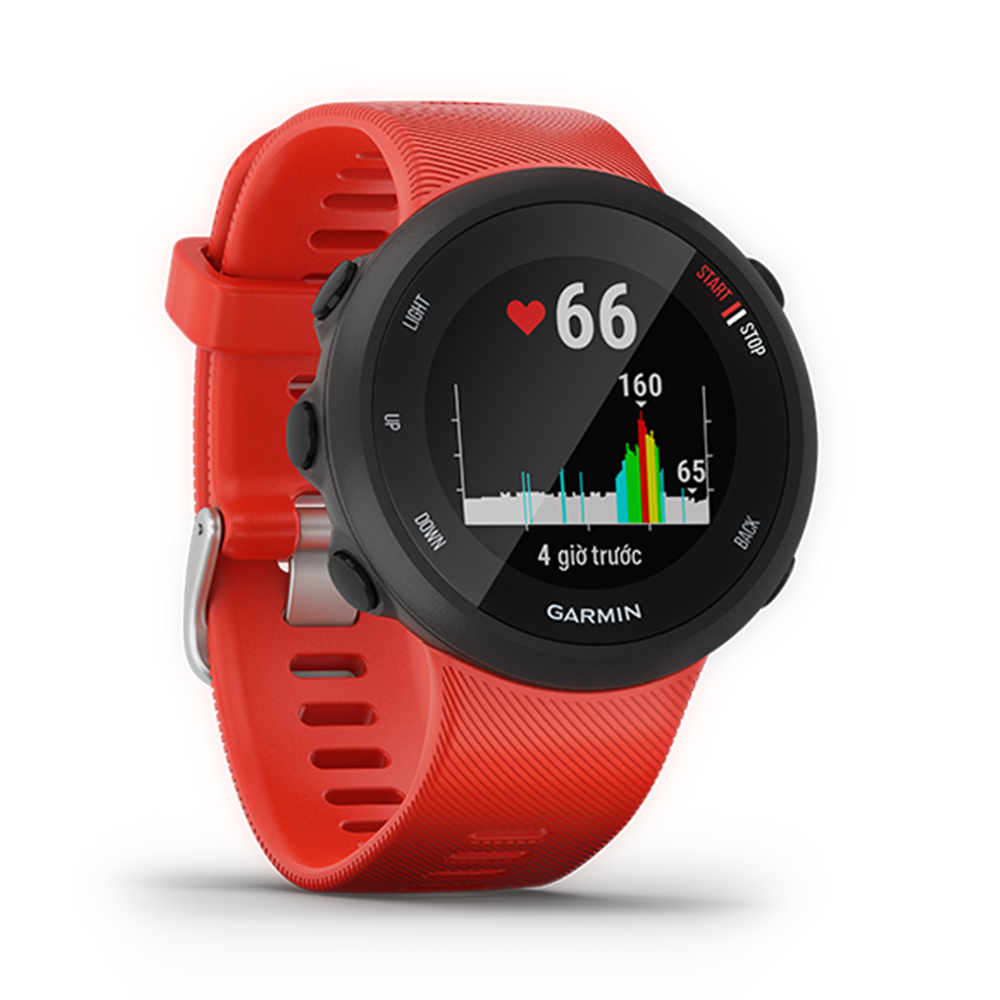 Smartwatch Garmin Forerunner 45, GPS, Lava Red_4