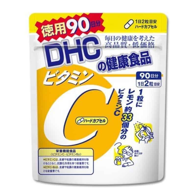 Viên uống Vitamin C DHC - Gói 90 ngày