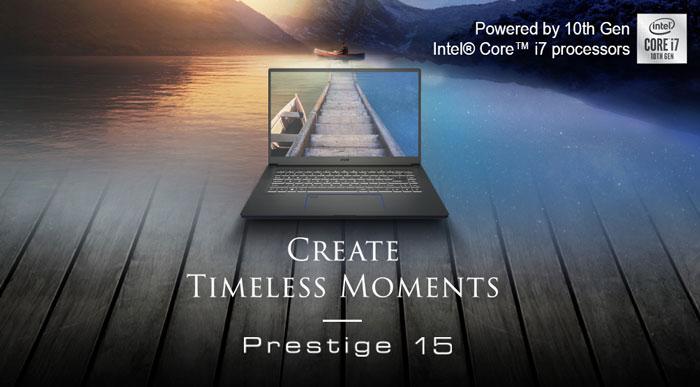 MSI Prestige 15 A10SC-laptop