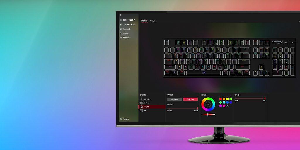 Hệ thống Led RGB rực rỡ
