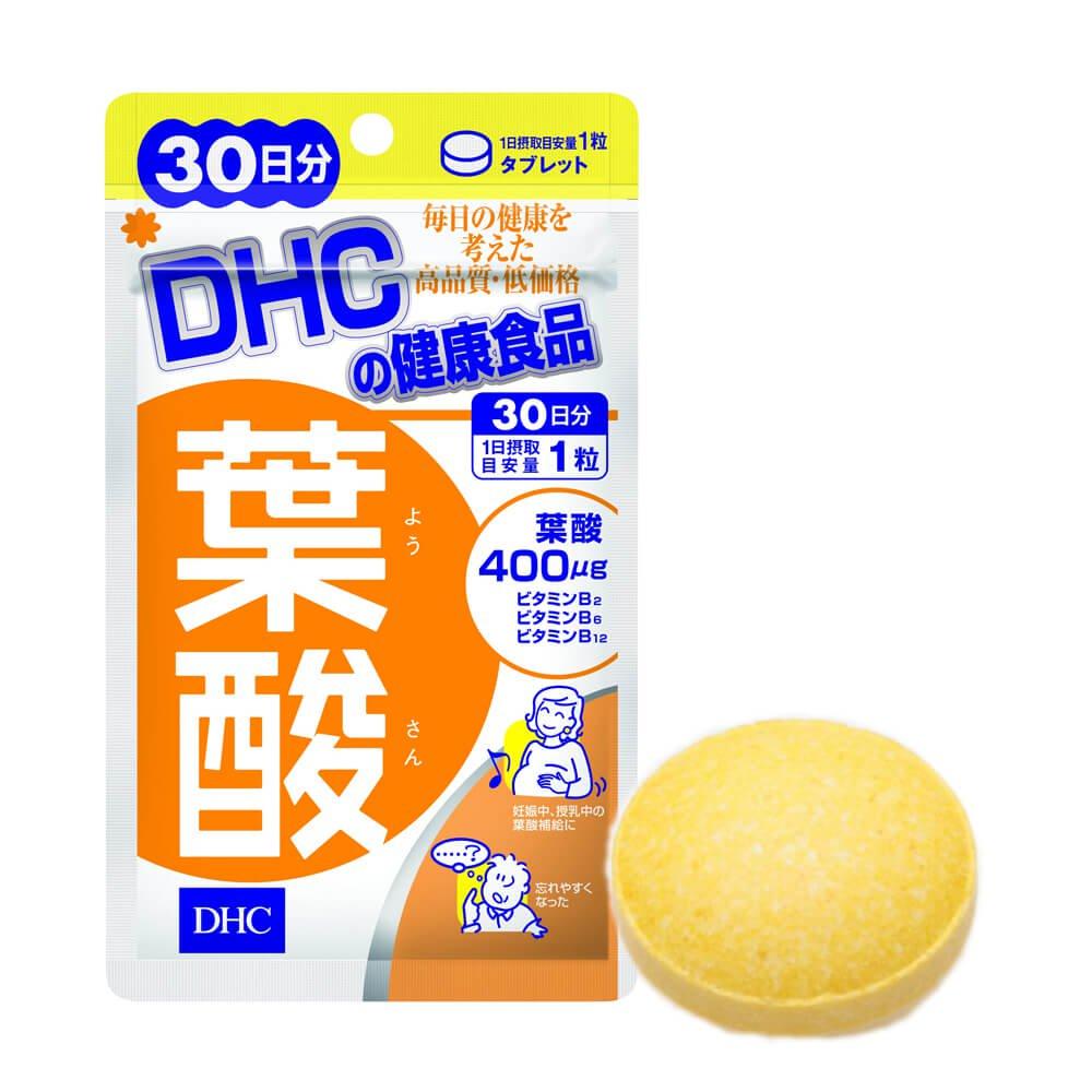 Viên uống bổ sung Folic Acid (30 ngày) DHC