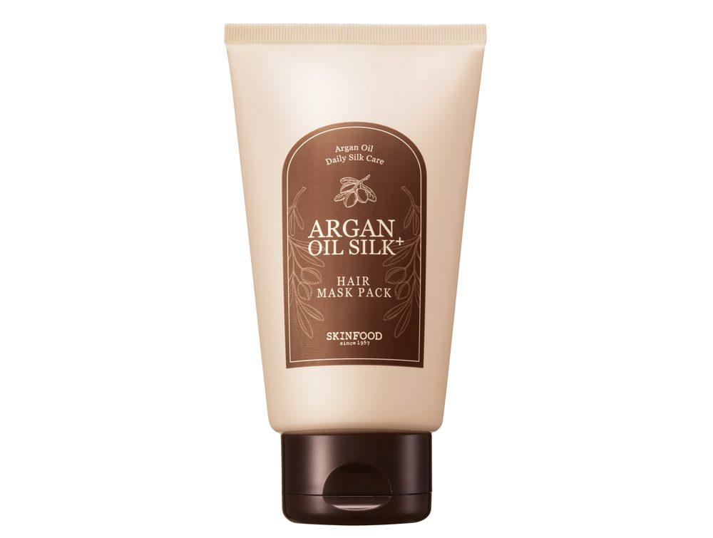 Dầu ủ dưỡng tóc ARGAN OIL SILK PLUS HAIR MASK PACK