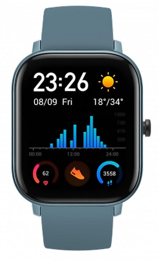 Đồng hồ thông minh AMAZFIT GTS (Xanh)