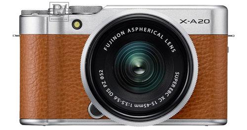 Fujifilm_X-A20_15-45mm_II_Kit_Brown_1