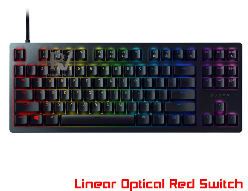 Bàn phím cơ Razer Huntsman Tournament Edition (Linear Optical Red Switch) (RZ03-03080100-R3M1)