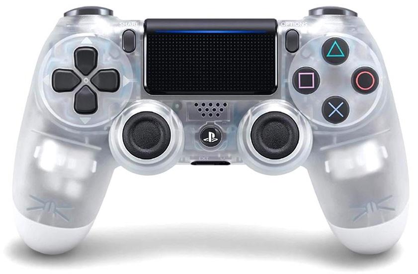 Tay cầm Game Pad Sony Dualshock 4 CUH-ZCT2G 17 (crystal)