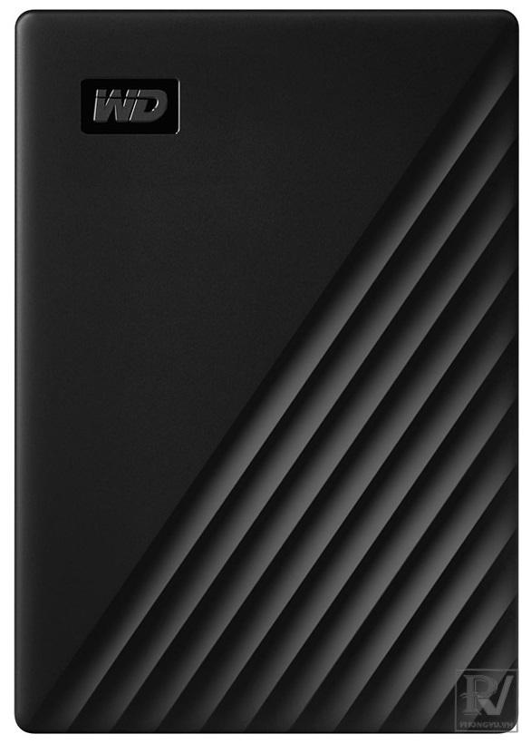 "Ổ cứng HDD WD My Passport 5TB 2.5"", 3.2 (WDBPKJ0050BBK-WESN) (Đen)"