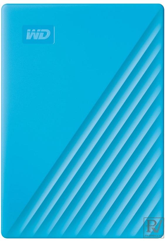 "WD My Passport 4TB 2.5"", 3.2 (WDBPKJ0040BBL-WESN) (Xanh)"