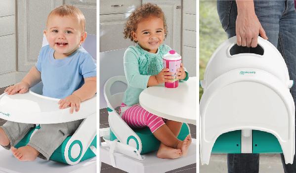 Ghế ăn dặm gọn nhẹ Summer SM13346 phù hợp sử dụng cho các bé mọi nơi