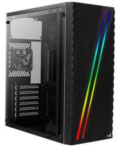 Thùng máy/ Case Aerocool Streak- Led RGB