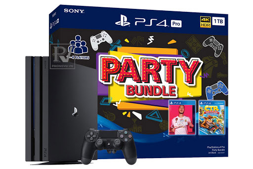 Playstation-PS4-Pro-1TB-Party-Bundle