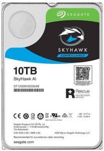 "ổ cứng HDD Camera Seagate Skyhawk AI 10TB 3.5"" SATA (ST10000VE0008)"