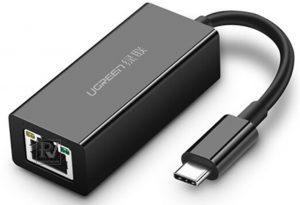 Cáp USB Type-C to Lan 10/100/1000Mbps chính hãng Ugreen 50307 cao cấp