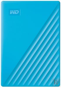"Ổ cứng HDD WD My Passport 1TB 2.5"", 3.2 (WDBYVG0010BBL-WESN) (Xanh)"