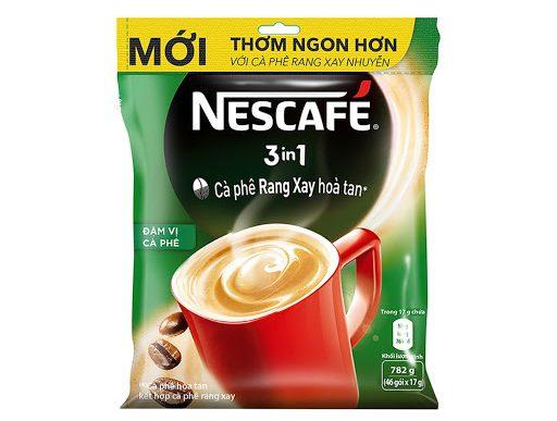 Cafe Hòa Tan NESCAFÉ 3 in1 Đậm Vị Cafe Bịch 46 gói x 17g_1
