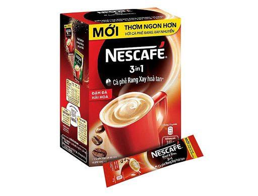 Cafe Hòa Tan NESCAFÉ 3 in1 Cà Phê Đậm Đà Hài Hòa Hộp 20 gói x 17g_1