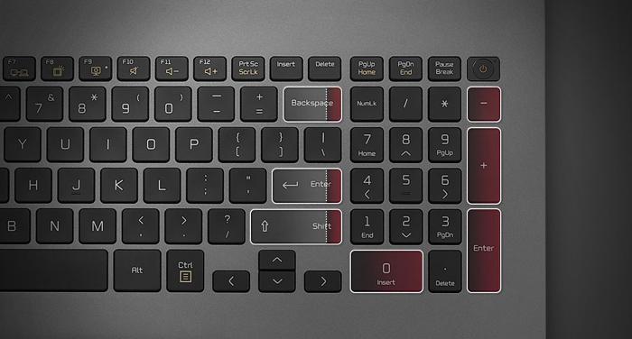 LG-Gram-17Z90N-numberpad