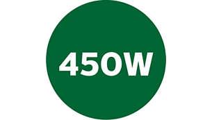 Động cơ lên đến 450W