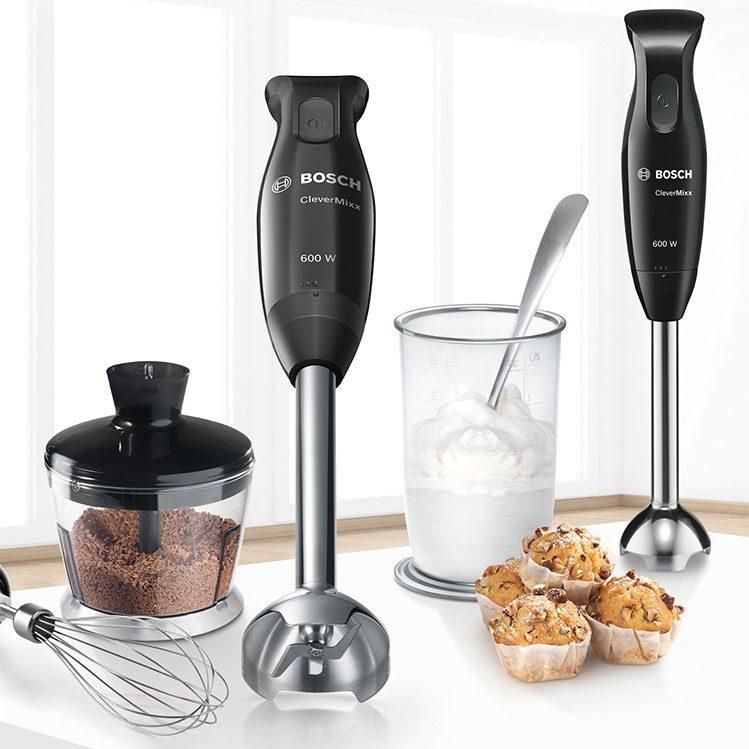 Máy Xay Cầm Tay Bosch MSM2650B giúp chế biến những món ăn ngon cùng gia đình