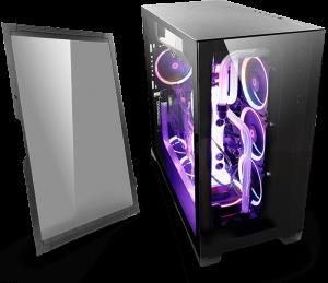 Thùng máy/ Case máy tính Antec P120 Crystal - Tempered Glass