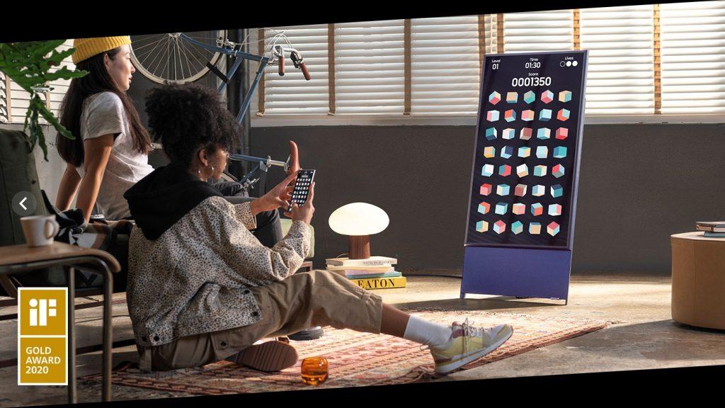 Smart Tivi QLED Samsung 4K 43 inch QA43LS05TAKXXV