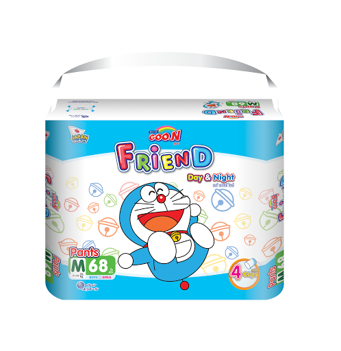 Tã- bỉm quần Goon Friend M68(7-12kg)