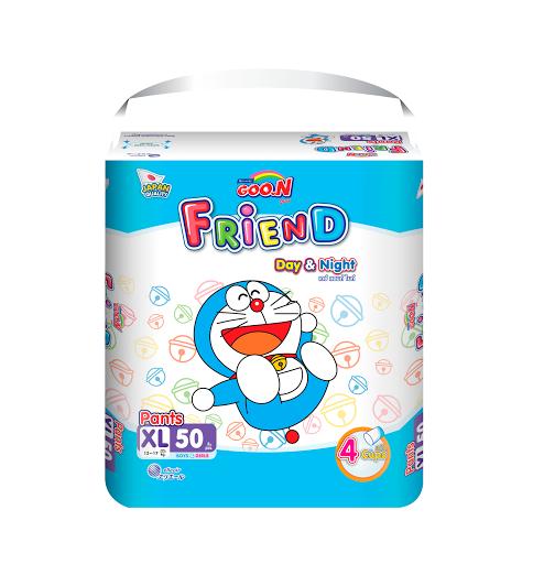 Tã- bỉm quần Goon Friend XL50 (12-17kg)