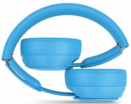 Beats Solo Pro Wireless Noise Cancelling Headphones - More Matte Collection_LightBlue_2