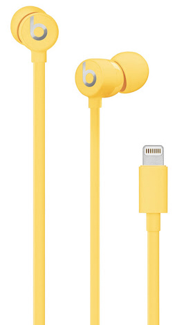 Beats urBeats3 Earphones with Lightning Connector_Yellow_1