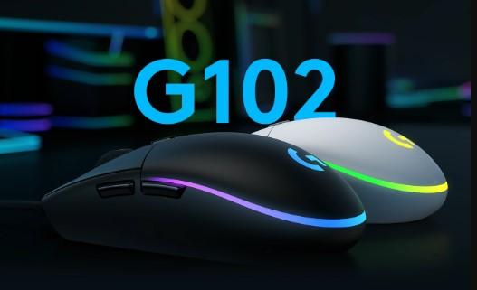 Chuột gaming Logitech G102 Gen2 Lightsync