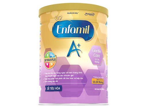 Sữa bột Enfamil A+ Gentle Care 3 (800g) (12 -24 tháng)
