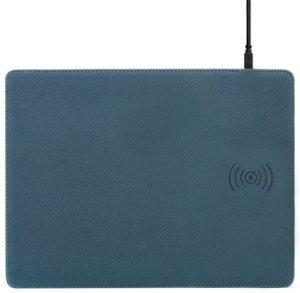 Miếng lót chuột tích hợp sạc không dây tốc độ cao 10W - Multifast Wireless Charging Mouse Pad Actto MP-44 (Blue)