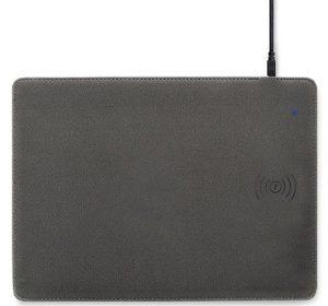 Miếng lót chuột tích hợp sạc không dây tốc độ cao 10W - Multifast Wireless Charging Mouse Pad Actto MP-44 (Gray)
