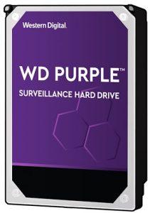 """Ổ cứng camera HDD WD Purple 10TB 3.5"""" SATA3 (WD102PURZ) (Tím)"""