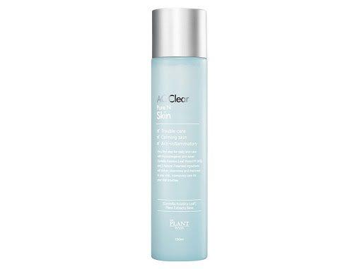THE PLANT BASE AC Clear Pure N Skin (Nước hoa hồng cho da dầu và da mụn)