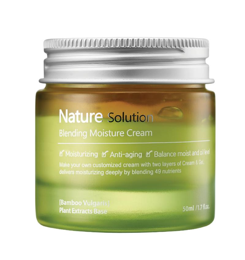 THE PLANT BASE Nature Solution Blending Moisture Cream (Kem dưỡng ẩm làm mềm da)