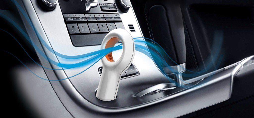 Tận hưởng không khí trong lành trong xe
