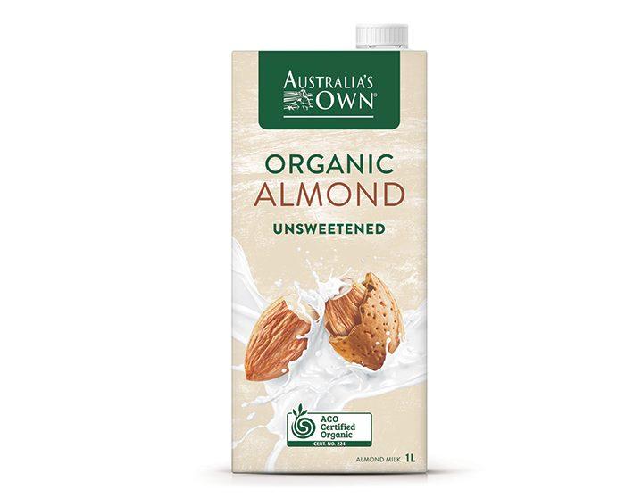 Australia's Own Sữa Hạnh nhân Không Đường Organic 1L