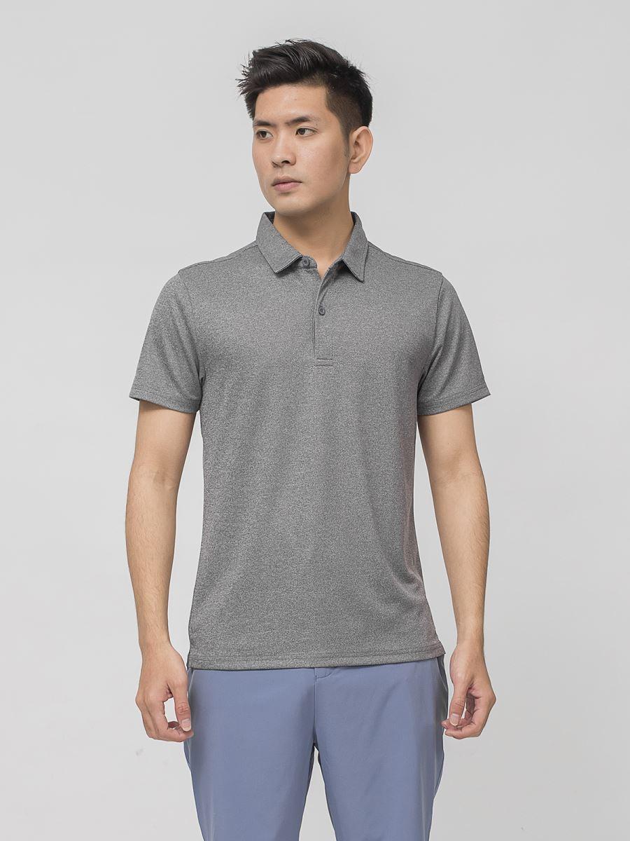 Áo Polo ngắn tay Aristino APS073S9 màu Xám 9 Mesh cỡ L
