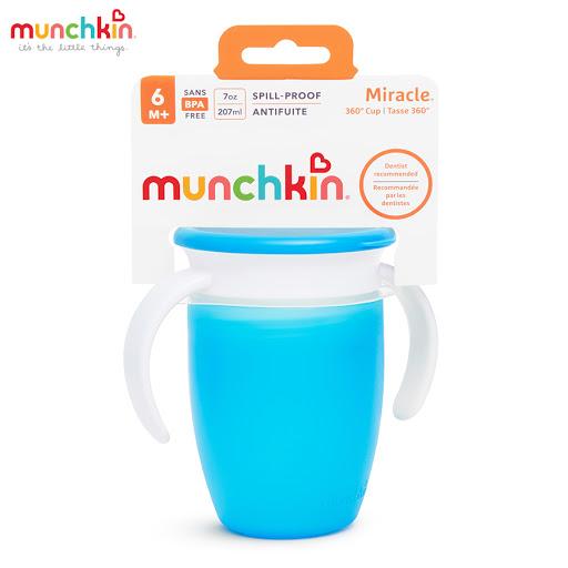 Cốc tập uống 360 độ Munchkin có nắp 207ml (Xanh dương) MK51854_2