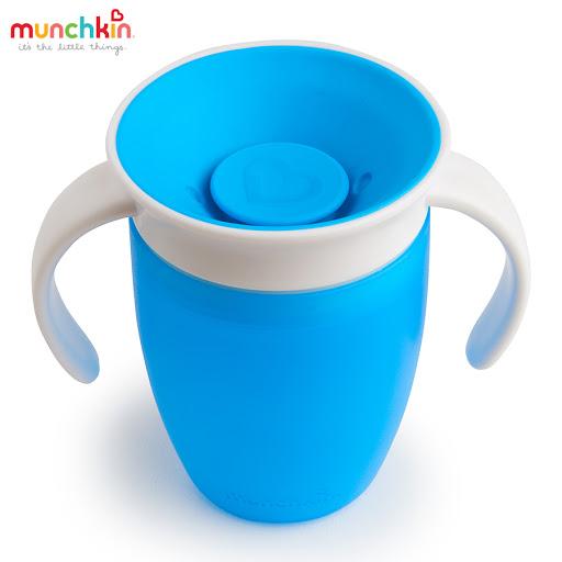Cốc tập uống 360 độ Munchkin có nắp 207ml (Xanh dương) MK51854_4