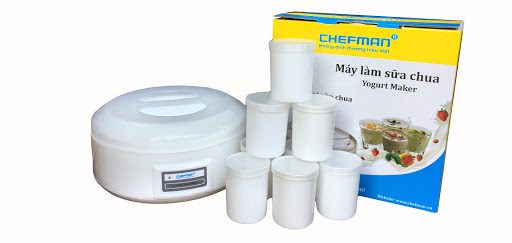 Máy làm sữa chua Chefman CM - 302 (8 cốc nhựa)_1