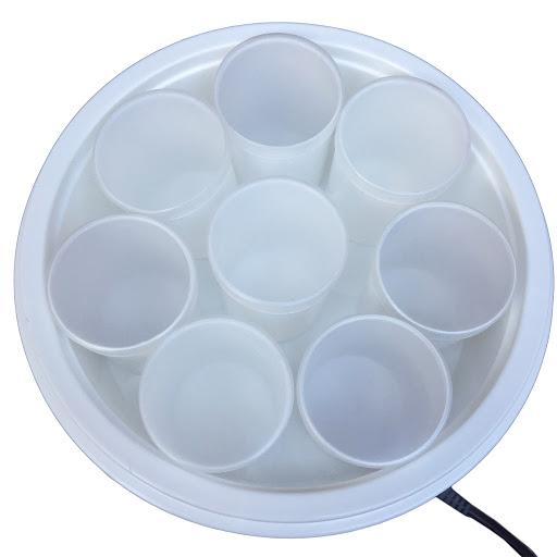 Máy làm sữa chua Chefman CM - 302 (8 cốc nhựa)_3